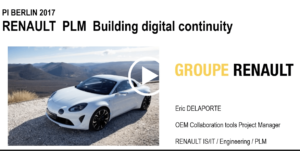 Presentation by Eric DELAPORTE, Groupe Renault at PI Congress Berlin 2017